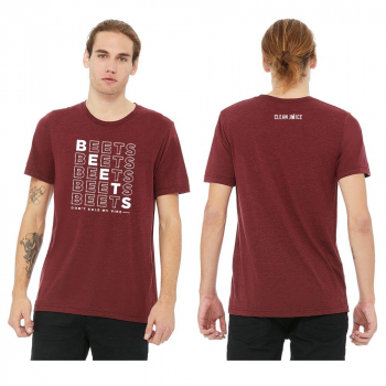 Canvas Tri-Blend Tee - Beets